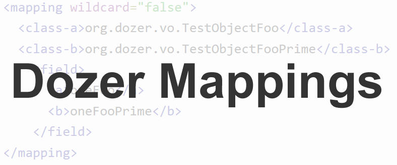 Dozer Mappings